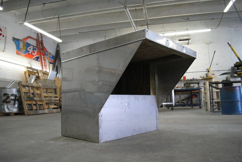 Custom Large Roof Pipe Box