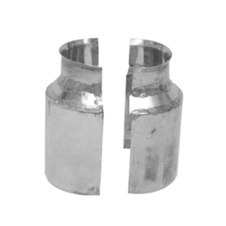 2 pc Retrofit Bell Cap Storm Collar with Clamp